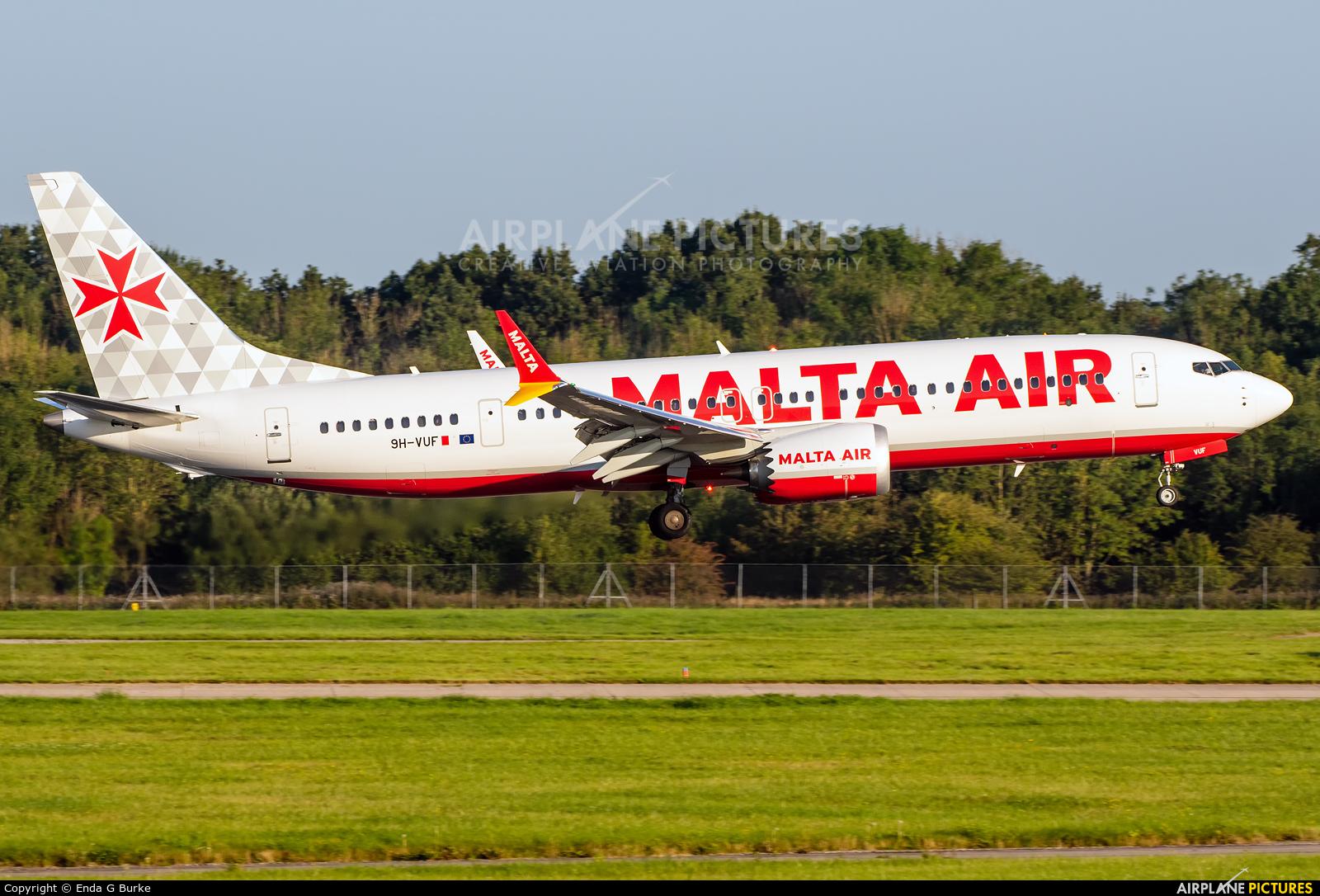 Malta Air 9H-VUF aircraft at Manchester