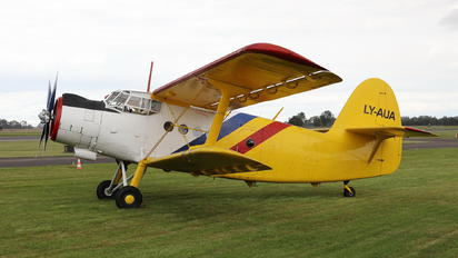 LY-AUA - Private Antonov An-2