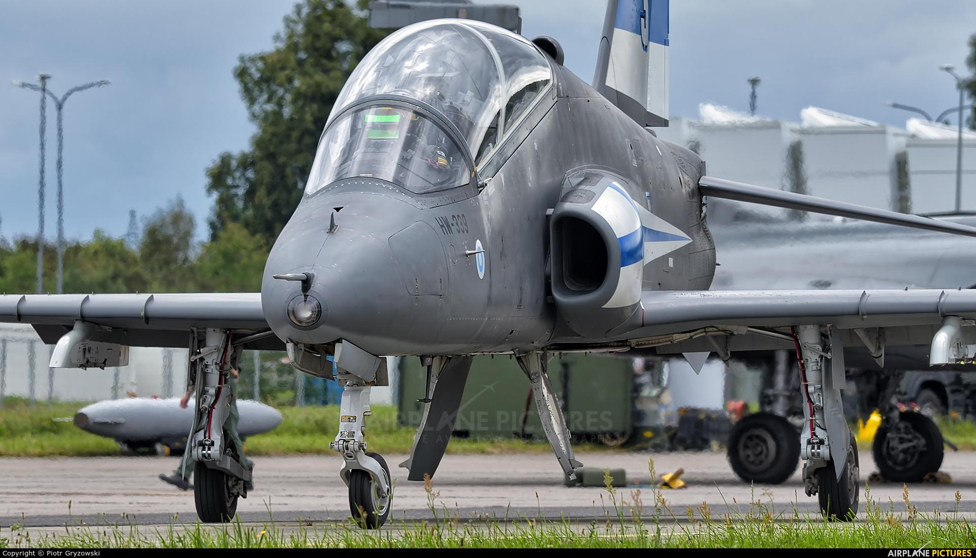 Finland - Air Force: Midnight Hawks HW-339 aircraft at Gdynia- Babie Doły (Oksywie)