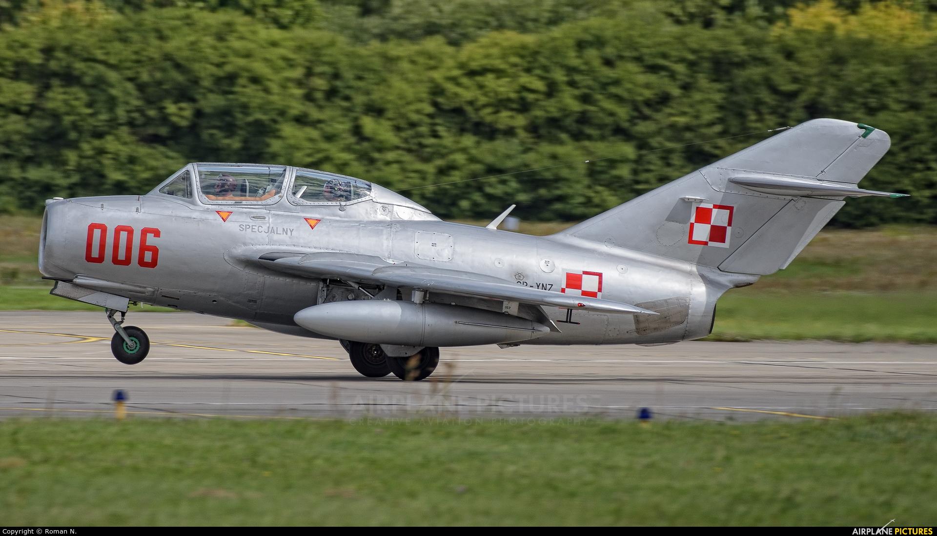 Polish Eagles Foundation SP-YNZ aircraft at Gdynia- Babie Doły (Oksywie)