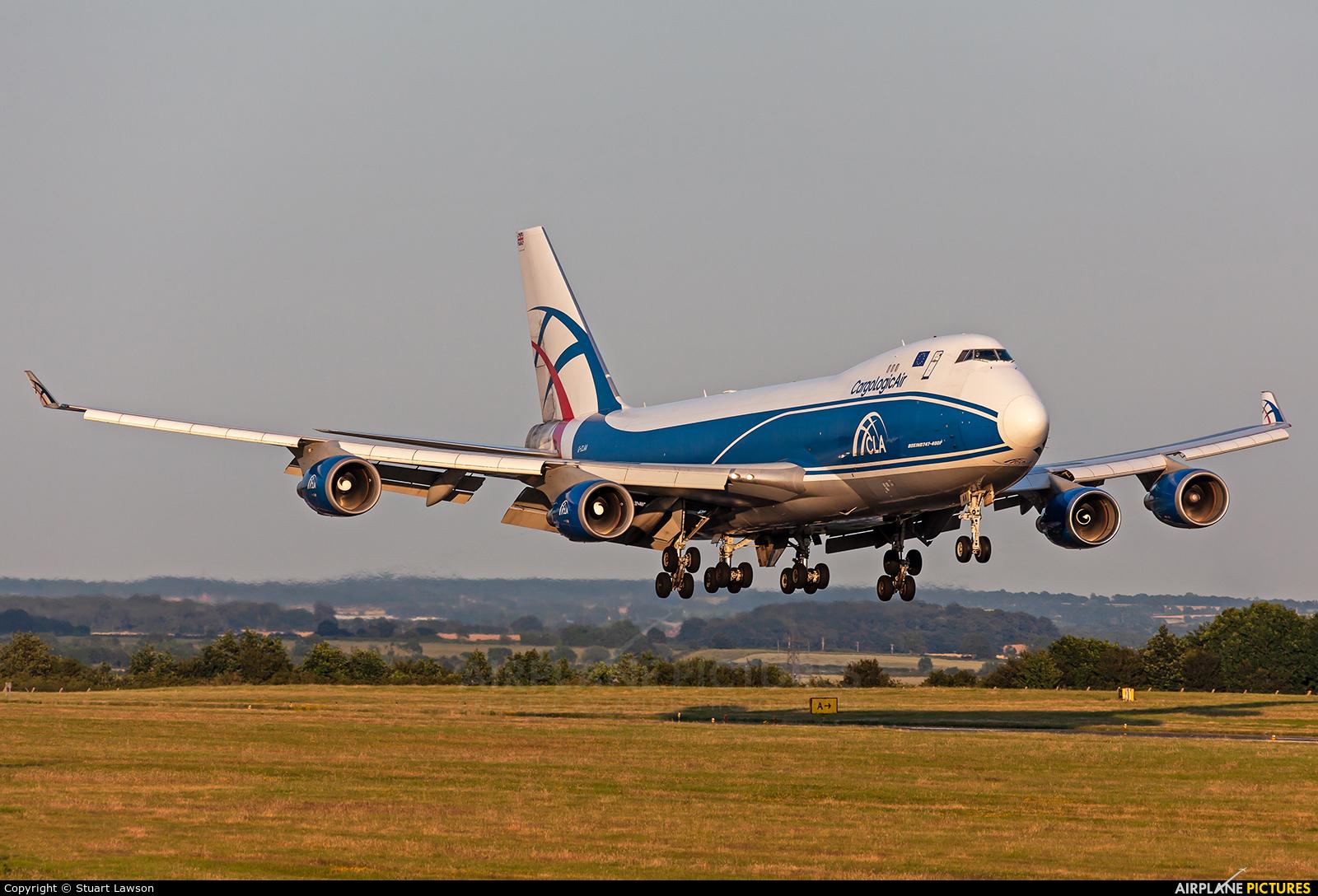 Cargologicair G-CLAA aircraft at East Midlands