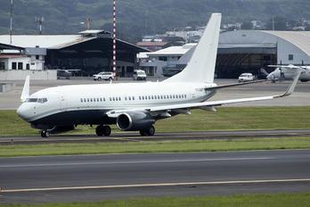 N835BZ - Private Boeing 737-700 BBJ