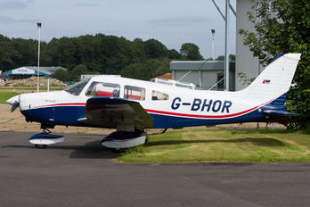 G-BHOR - Private Piper PA-28-161 Cherokee Warrior II