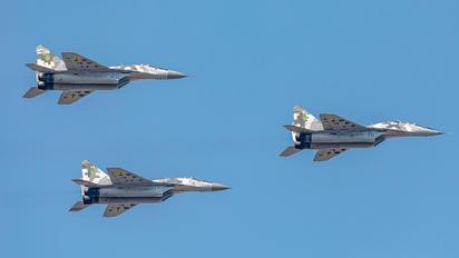 81 BLUE - Ukraine - Air Force Mikoyan-Gurevich MiG-29UB