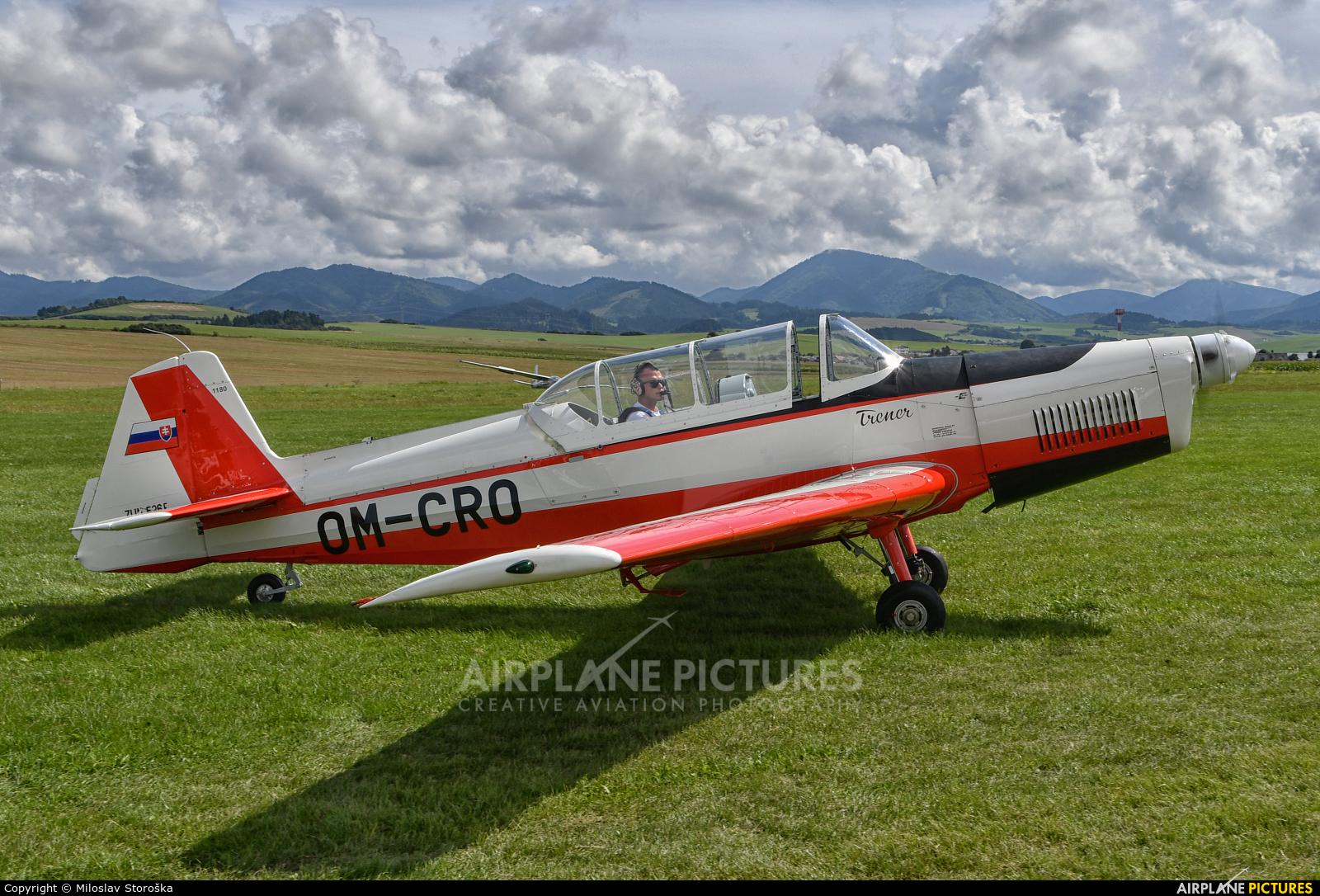 Private OM-CRO aircraft at Martin-Tomčany
