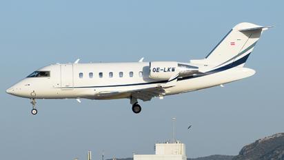 OE-LKW - MJet Aviation Bombardier Challenger 650