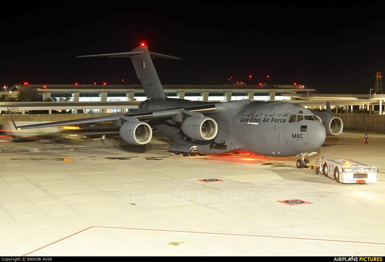Qatar Amiri - Air Force A7-MAC aircraft at Cancun Intl