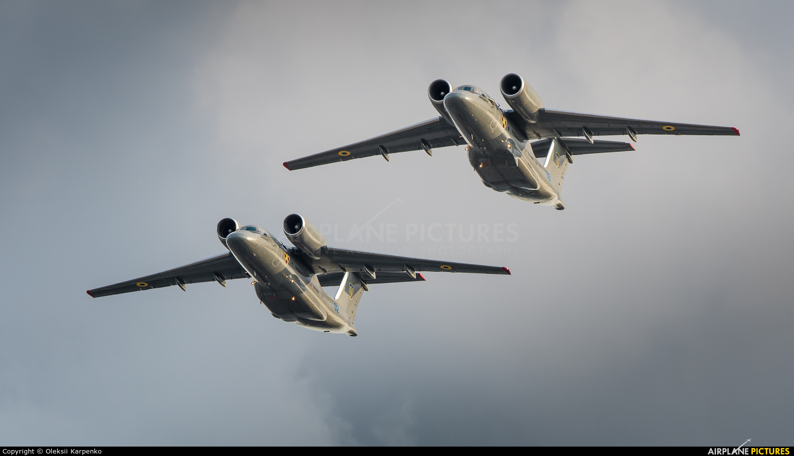 Ukraine - National Guard 03 BLUE aircraft at In Flight - Ukraine