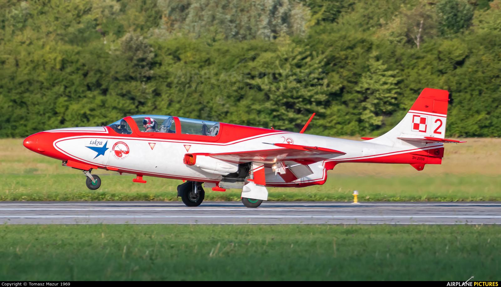 Poland - Air Force: White & Red Iskras 2 aircraft at Gdynia- Babie Doły (Oksywie)