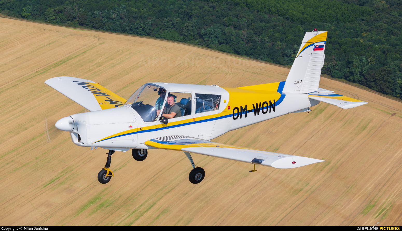 Private OM-WON aircraft at In Flight - Slovakia