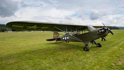 HB-OUN - Private Piper J3 Cub