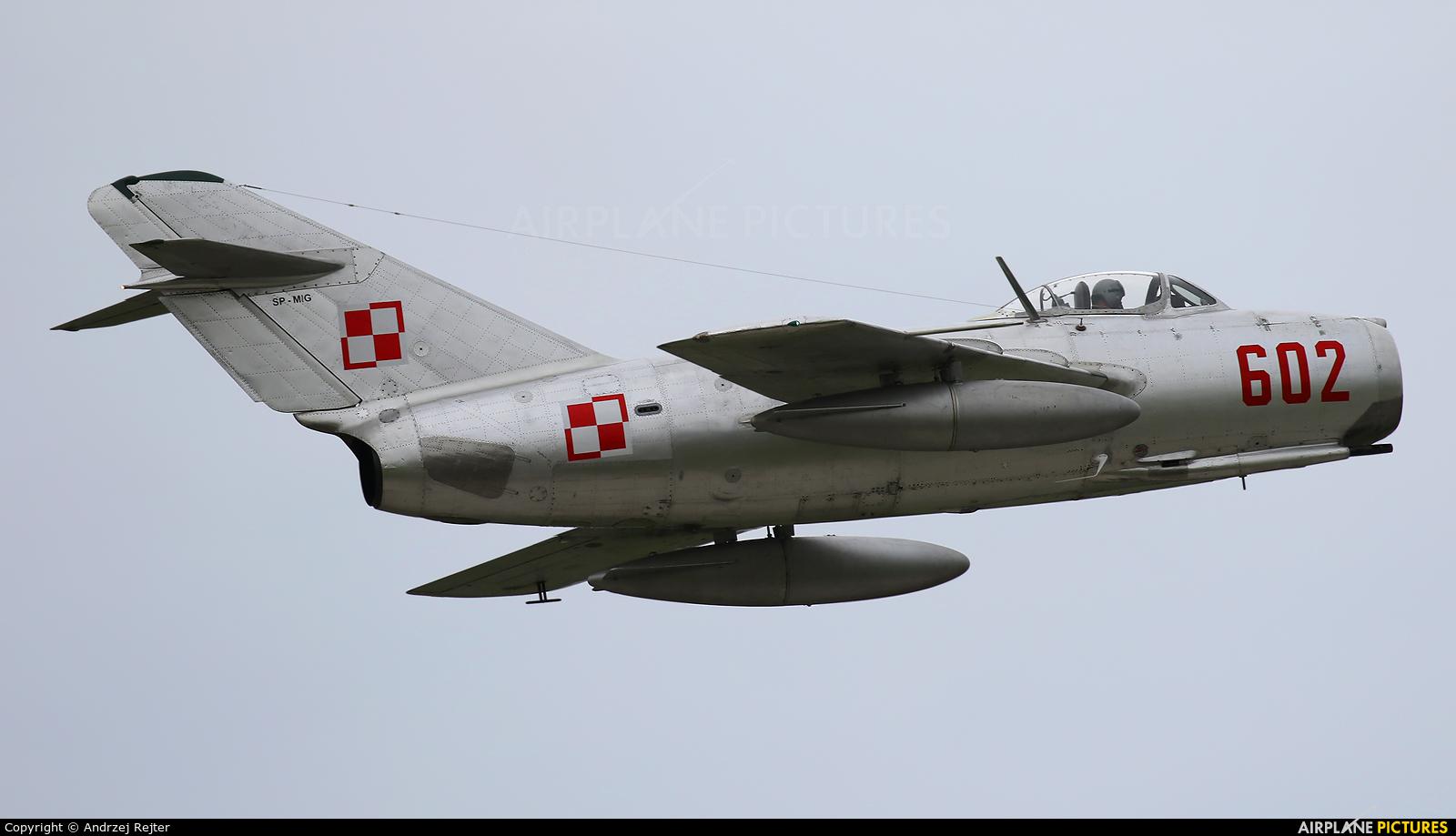 Private SP-MIG aircraft at Gdynia- Babie Doły (Oksywie)