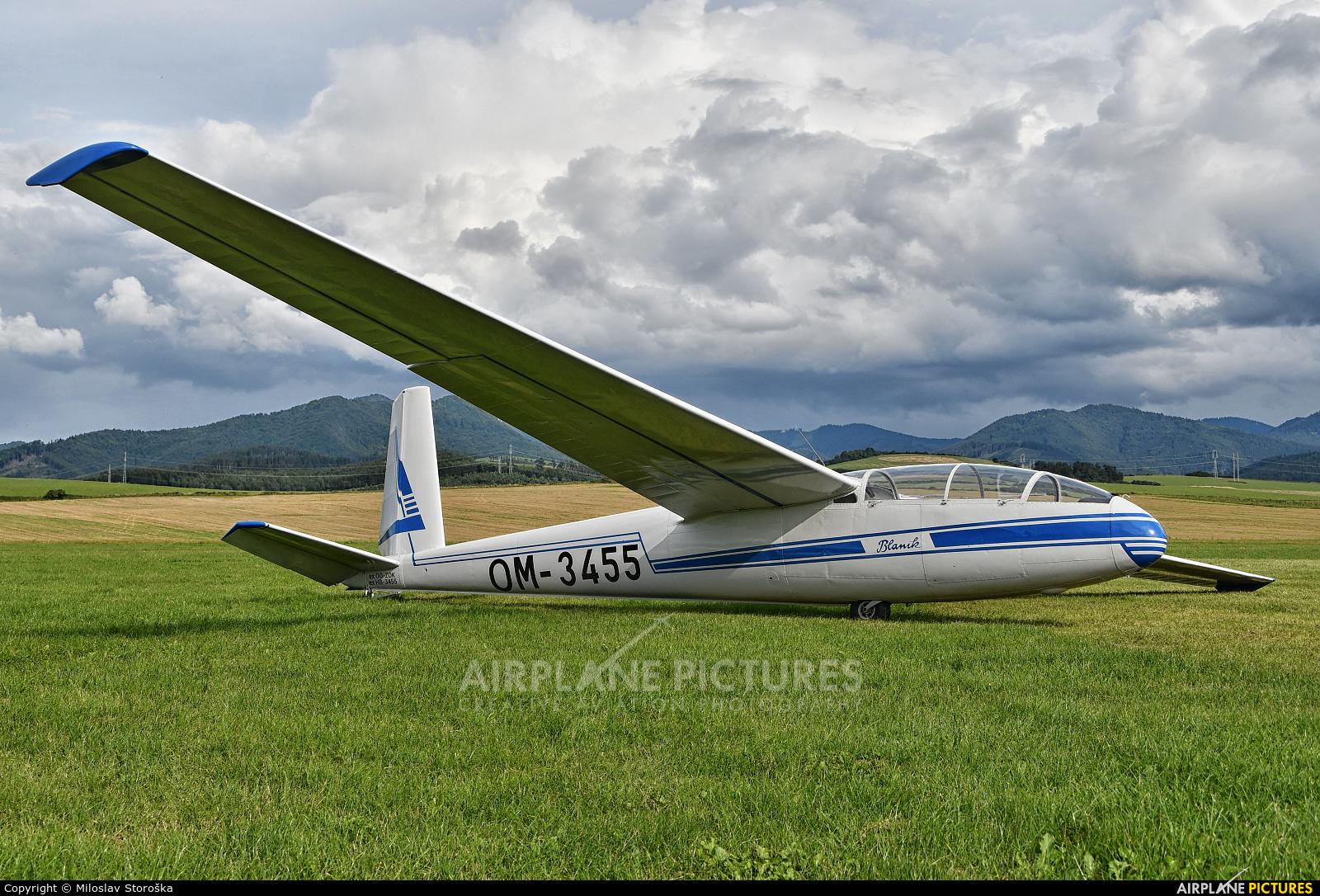Aeroklub Martin OM-3455 aircraft at Martin-Tomčany