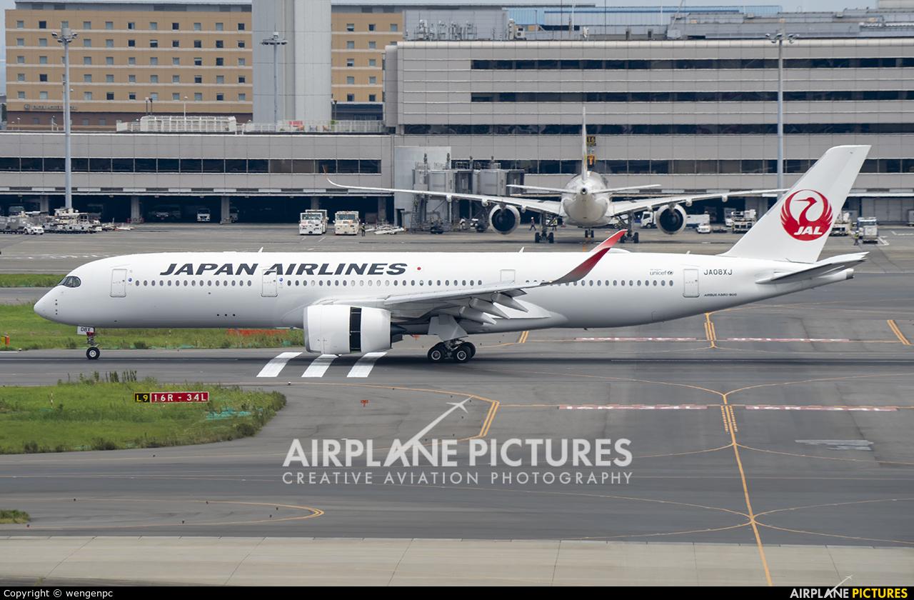 JAL - Japan Airlines JA08XJ aircraft at Tokyo - Haneda Intl