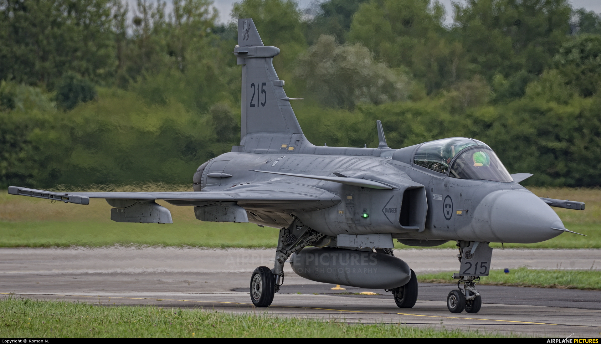 Sweden - Air Force 39215 aircraft at Gdynia- Babie Doły (Oksywie)