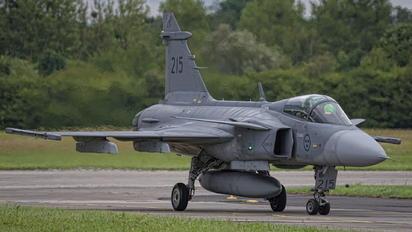 39215 - Sweden - Air Force SAAB JAS 39C Gripen