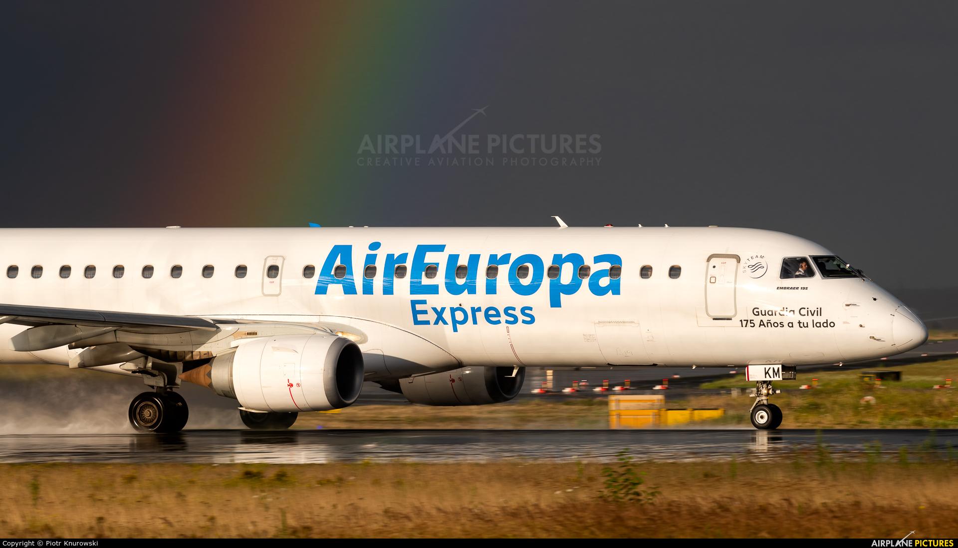 Air Europa EC-LKM aircraft at Frankfurt