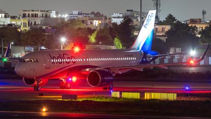 VT-IJU - IndiGo Airbus A320 NEO