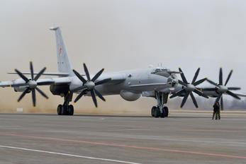 56 RED - Russia - Air Force Tupolev Tu-142M3