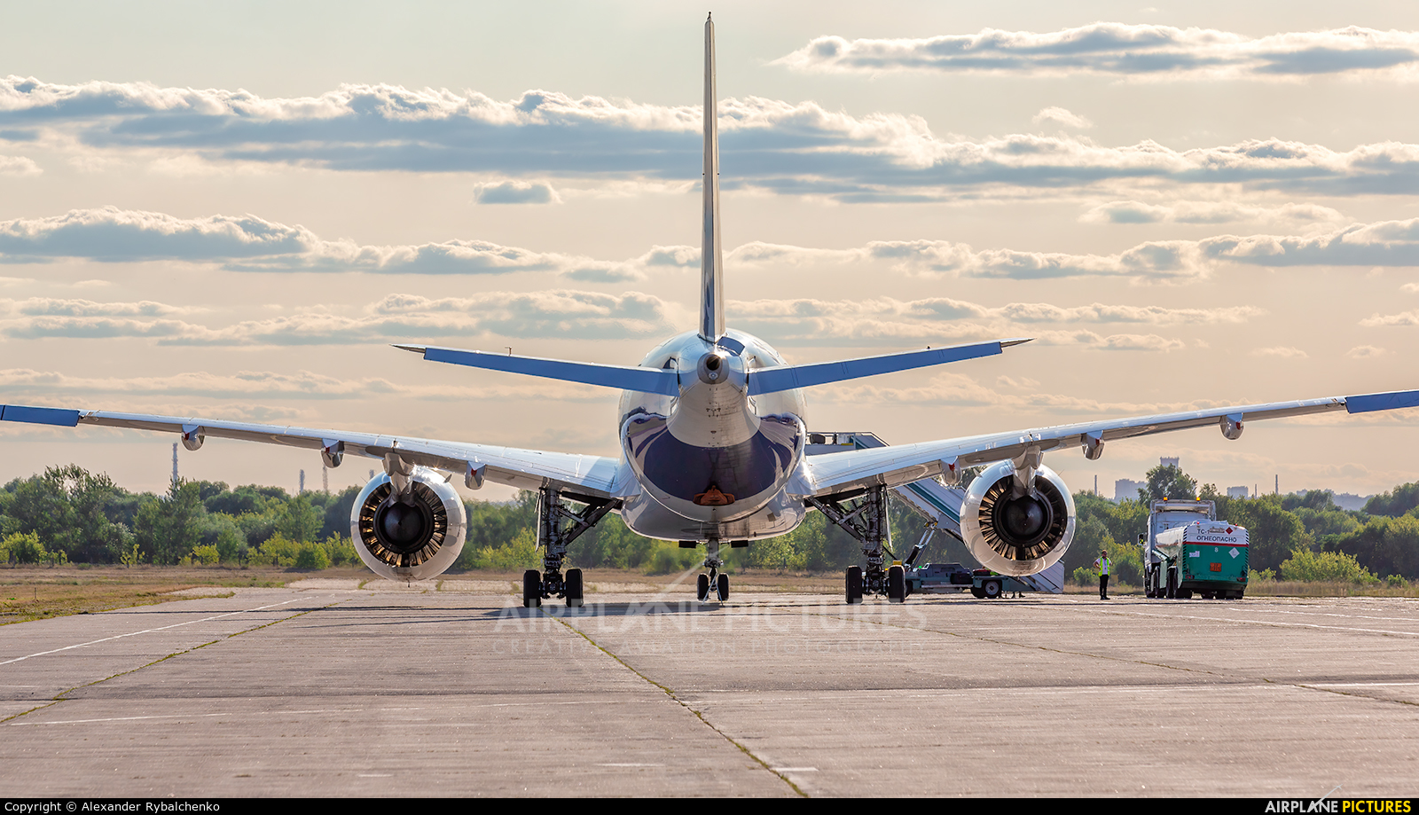 Aircraft Industries F-WMIL aircraft at Zhukovsky International Airport