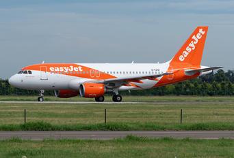 G-EZGI - easyJet Airbus A319