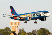 OO-SND - Brussels Airlines Airbus A320 aircraft