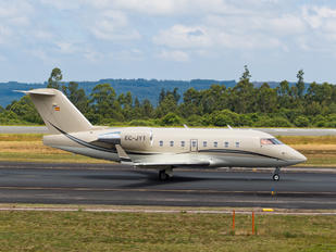 EC-JYT - Global Jet Austria Canadair CL-600 Challenger 604