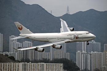 JA8911 - JAL - Japan Airlines Boeing 747-400