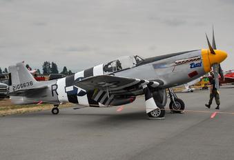 NX5087F - Historic Flight Foundation North American P-51B Mustang