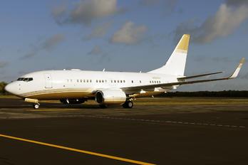N324CH - Private Boeing 737-700 BBJ