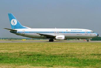 OO-SYC - Sabena Boeing 737-400