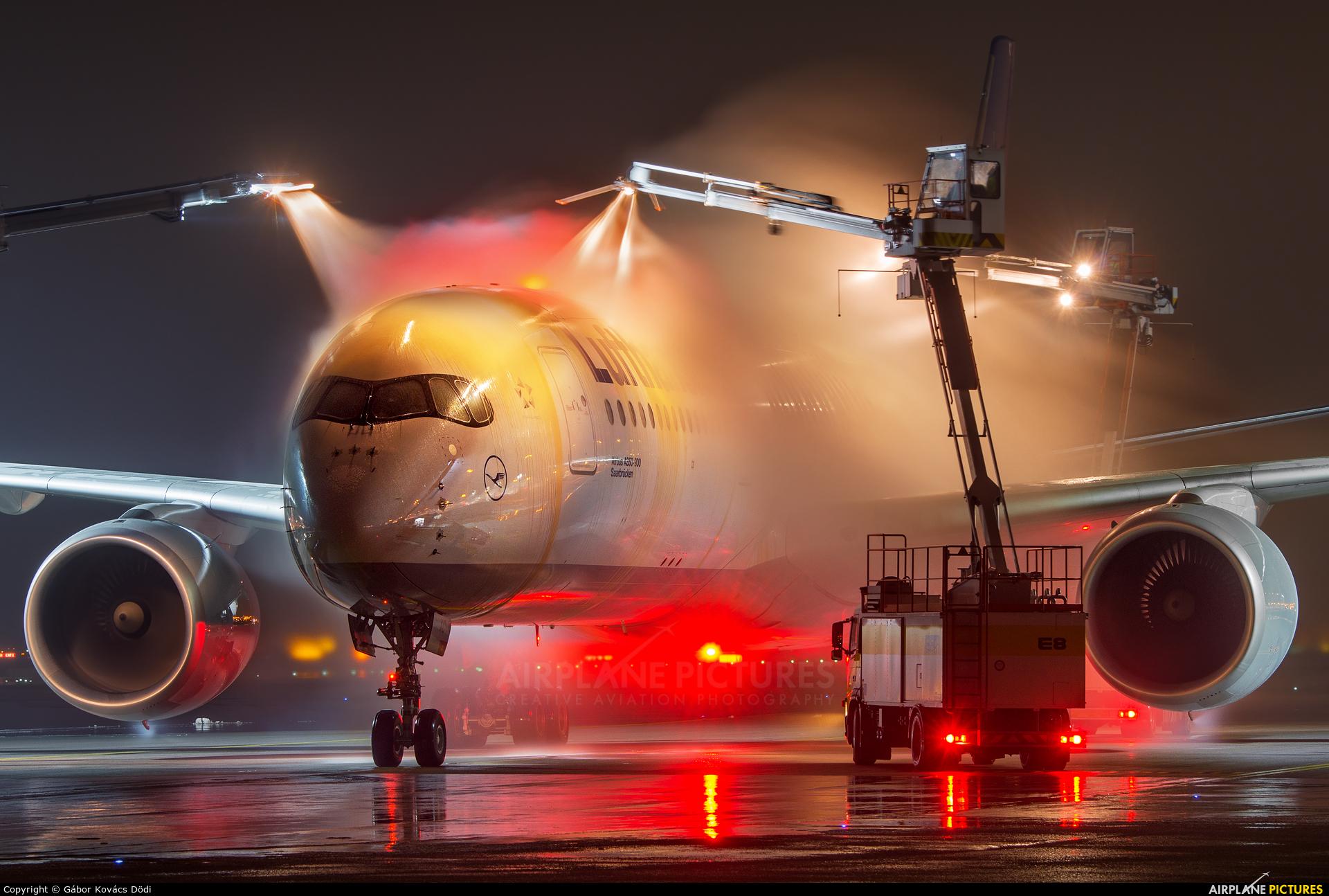 Lufthansa D-AIXC aircraft at Munich