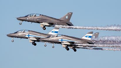 HW-357 - Finland - Air Force: Midnight Hawks British Aerospace Hawk 51