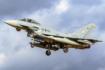 30+52 - Germany - Air Force Eurofighter Typhoon S