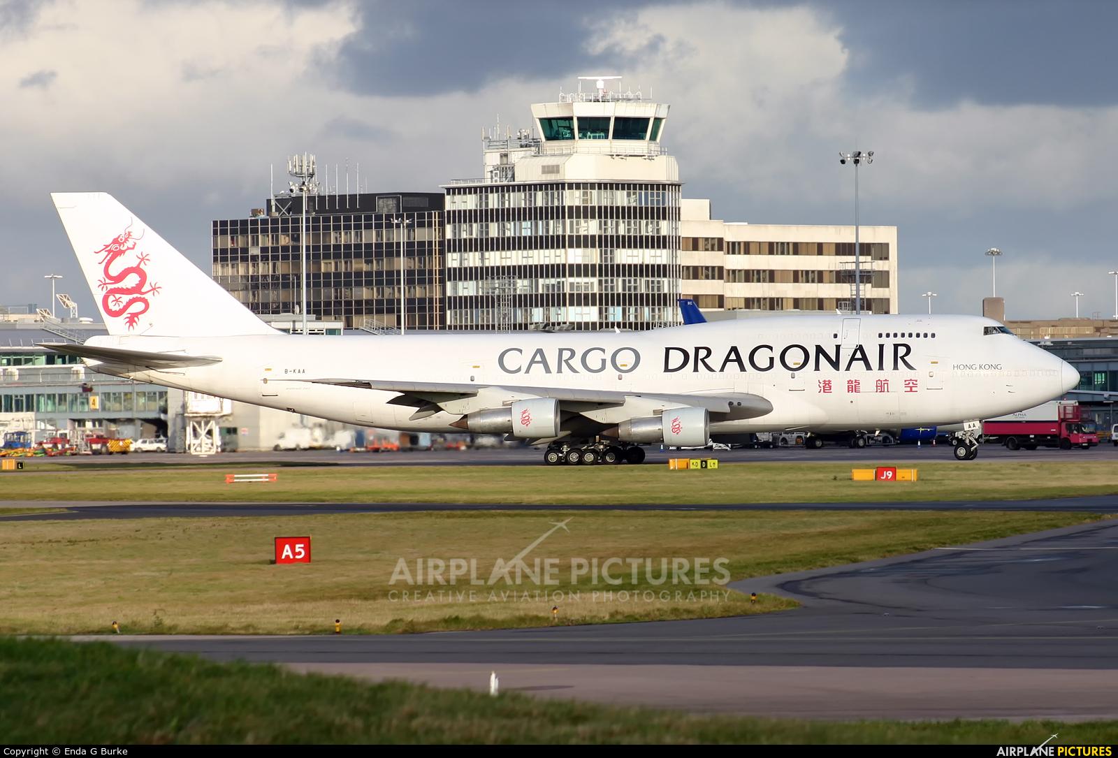 Dragonair Cargo B-KAA aircraft at Manchester