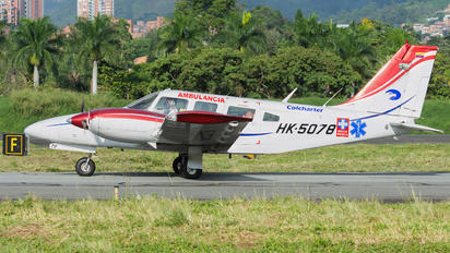 HK-5078 - Colcharter Piper PA-34 Seneca