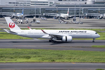 JA09XJ - JAL - Japan Airlines Airbus A350-900