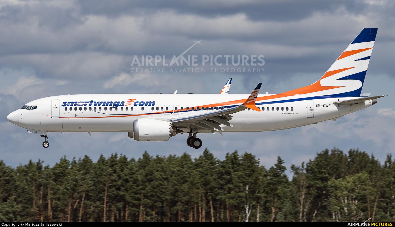 SmartWings OK-SWE aircraft at Katowice - Pyrzowice