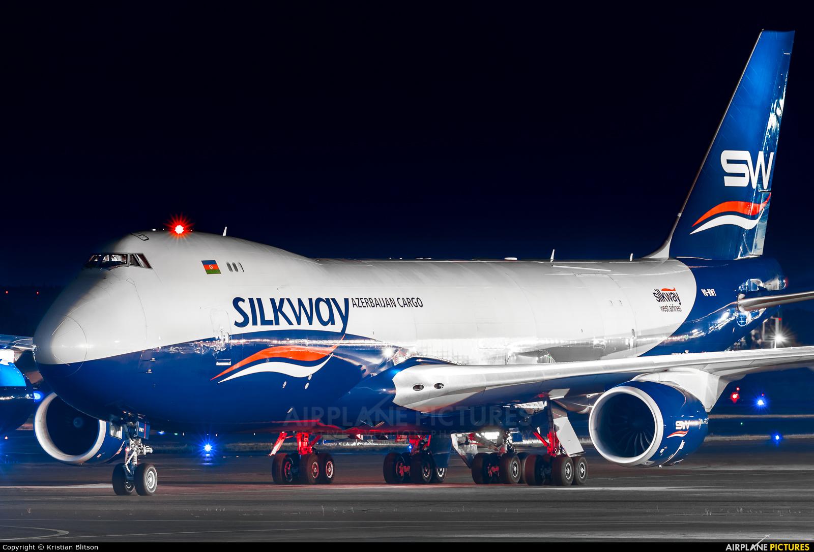 Silk Way Airlines VQ-BWY aircraft at Helsinki - Vantaa