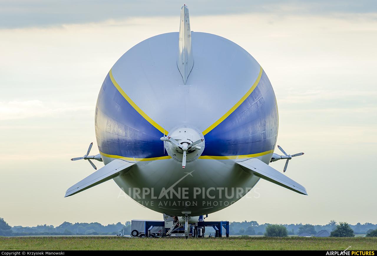 Zeppelin D-LZFN aircraft at Wrocław - Szymanów