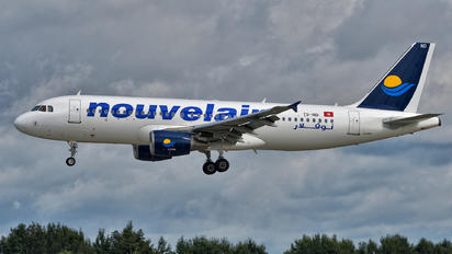 TS-IND - Nouvelair Airbus A320