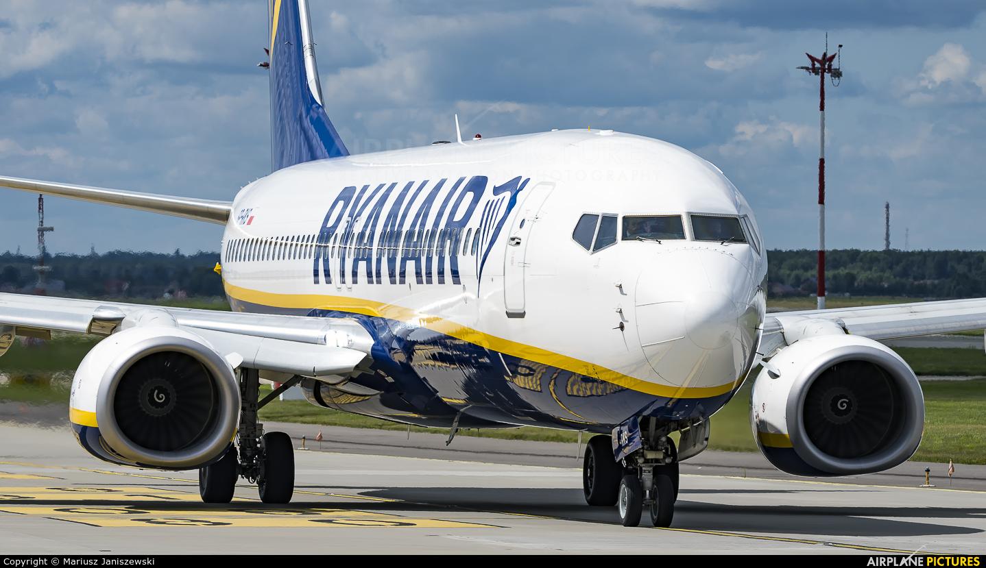 Ryanair SP-RKS aircraft at Katowice - Pyrzowice