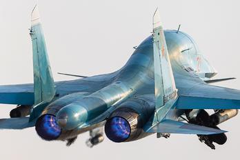 RF-81857 - Russia - Air Force Sukhoi Su-34