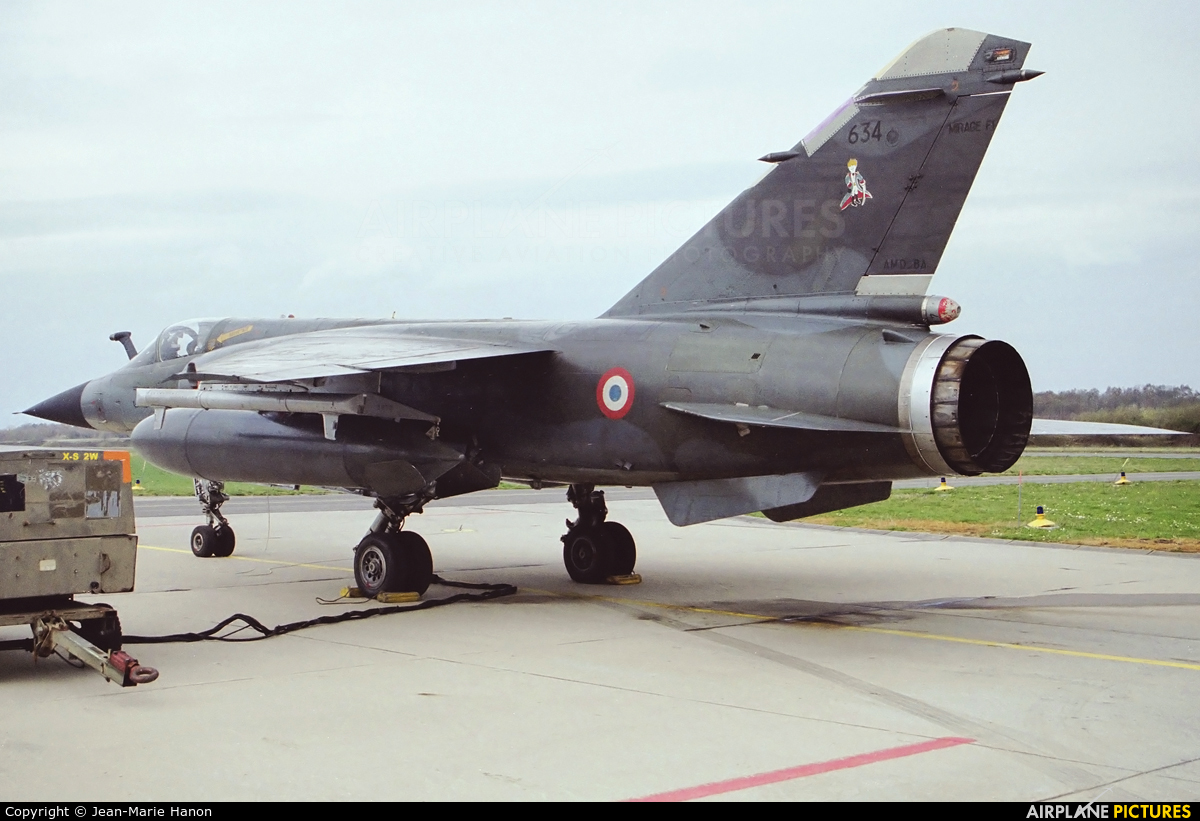 France - Air Force 634 aircraft at Florennes