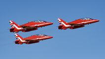 "XX325 - Royal Air Force ""Red Arrows"" British Aerospace Hawk T.1/ 1A aircraft"