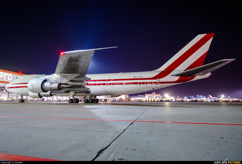 Aerostan EX-47002 aircraft at Moscow - Sheremetyevo
