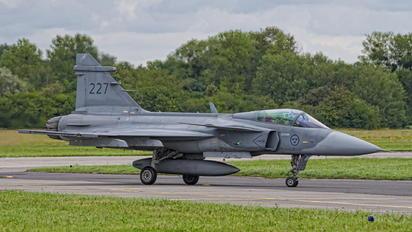 39227 - Sweden - Air Force SAAB JAS 39C Gripen