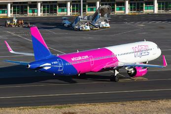 G-WUKN - Wizz Air Airbus A321 NEO