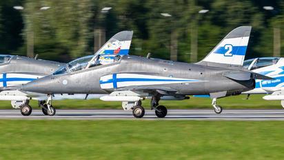 HW-354 - Finland - Air Force: Midnight Hawks British Aerospace Hawk 51
