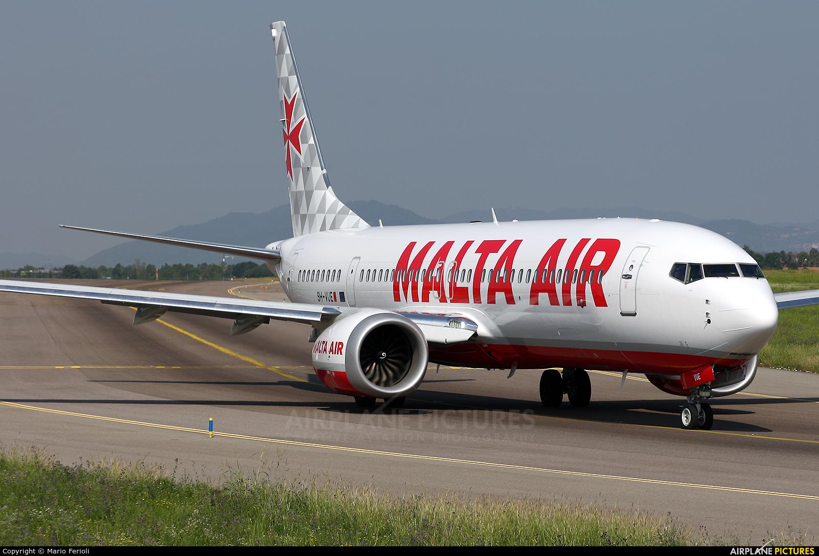 Malta Air 9H-VUE aircraft at Bergamo - Orio al Serio